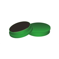 Magneetti Q-Connect 25 mm vihreä/10