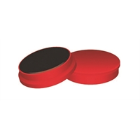 Magneetti Q-Connect 35mm punainen/10 kpl pkt