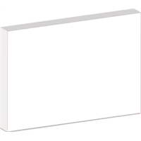 Kapalevy Kapa-Line 5 mm 70x100 cm valkoinen