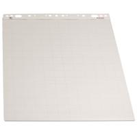 Taululehtiö - fläppipaperi Esselte 59x80cm ruudut 5x5/viivat/50 arkkia