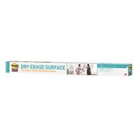 Valkotaulukalvorulla 3M Post-it Dry Erase 91,4 x 1219 cm - kiinnittyy helposti myös ikkunaan