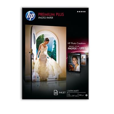 Image for HP Premium Plus A4/20 300g puolikiiltävä valokuvapaperi from Suomalainen.com