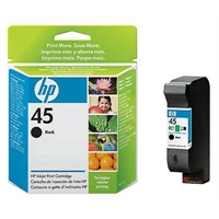 Värikasetti Mustesuihku HP 45/51645AE musta