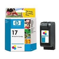 Värikasetti Mustesuihku HP 17/C6625A 3-väri
