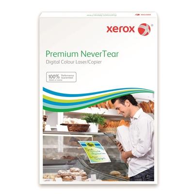 Tarrakopiokalvo Xerox NeverTear A4/50 kirkas - kestää vettä, säätä, kulutusta ja pyyhkimistä