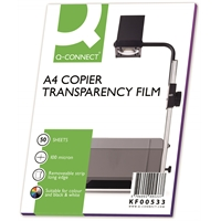 Värikopiokalvo Q-Connect A4/50 TN PS