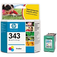 Värikasetti Mustesuihku HP 343/C8766EE Vivera 3-v