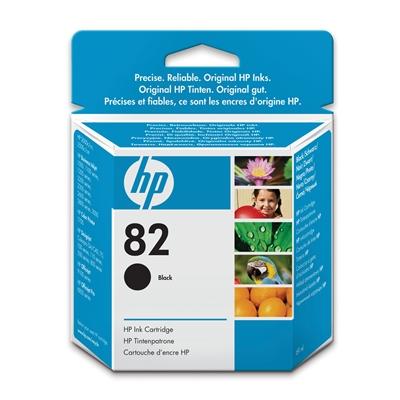 Värikasetti Mustesuihku HP 82/CH565A musta