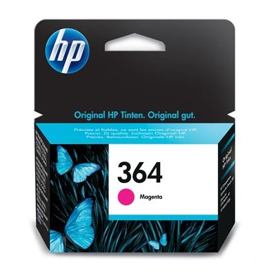 Värikasetti Mustesuihku HP 364/CB319EE Vivera puainen