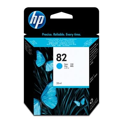 Värikasetti Mustesuihku HP 82/C4911A sininen