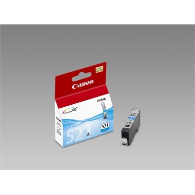 Värikasetti Mustesuihku Canon CLI-521 C sininen