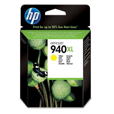Värikasetti Mustesuihku HP 940XL/C4909AE keltaine