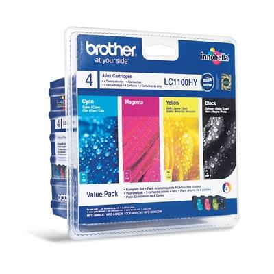 Värikasetti Mustesuihku Brother LC 1100 HY VALBPDR
