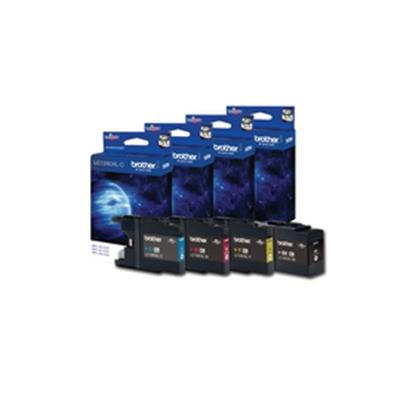 Värikasetti Mustesuihku Brother LC 1280XL C sininen
