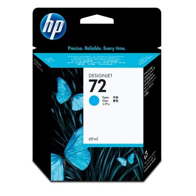 Värikasetti Mustesuihku HP 72/C9398A sininen