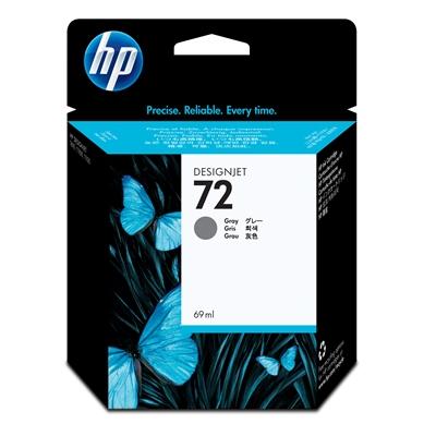 Värikasetti Mustesuihku HP 72/C9401A harmaa