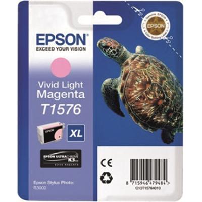 Inkjet Epson R3000 T1576 light punainen