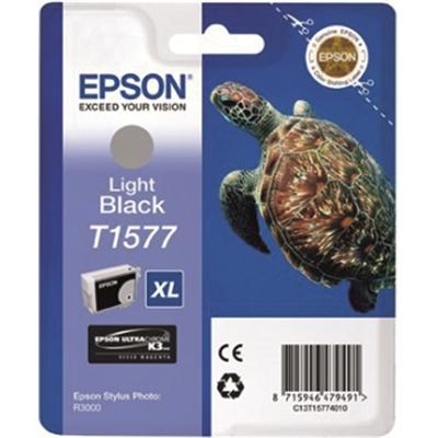 Inkjet Epson R3000 T1577 light musta