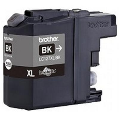 Värikasetti Inkjet Brother LC127 XL BK musta