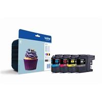 Värikasetti Inkjet Brother LC123 multipack