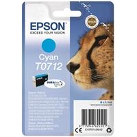 Värikasetti Inkjet Epson Stylus T0712 sininen