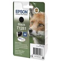 Värikasetti Inkjet Epson Stylus T1281 musta