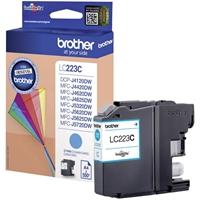 Värikasetti Inkjet Brother LC223C DCPJ4120 MFCJ4620 sininen