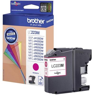 Värikasetti Inkjet Brother LC223M DCPJ4120 MFCJ4620 punainen