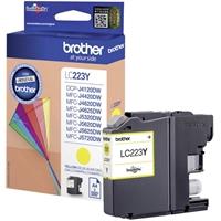 Värikasetti Inkjet Brother LC223Y DCPJ4120 MFCJ4620 keltaine