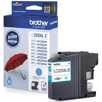 Värikasetti InkJet Brother LC225XLC sininen