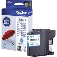 Värikasetti Laser Brother LC225XLM DCPJ4120 MFCJ4620 punaine
