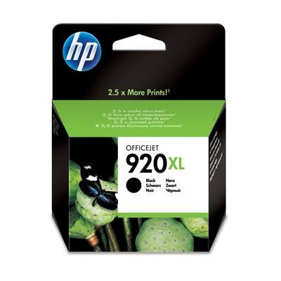 Värikasetti mustesuihku HP 920XL / CD975A musta
