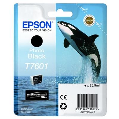 Inkjet Epson T7601 S ureColorP600 musta