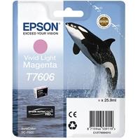 Inkjet Epson T7606 SureColorP600 vaalea punainen