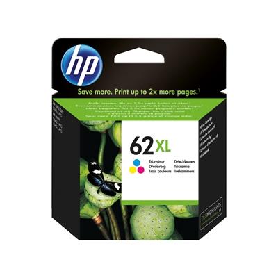 Värikasetti mustesuihku HP 62XL Envy 5540/5644 3-väri