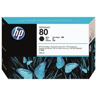 Värikasetti inkjet HP 80/C4871A DesignJet 1000 sarja musta