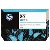 Värikasetti mustesuihku HP 80/C4846A DesignJet 1000 sininen