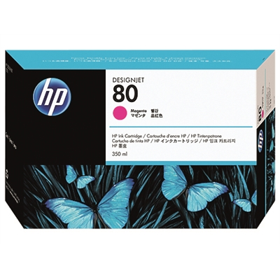 Värikasetti inkjet HP 80/C4847A DesignJet 1000 punainen