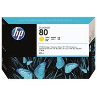 Värikasetti mustesuihku HP 80/C4848A DesignJet 1000 keltainen