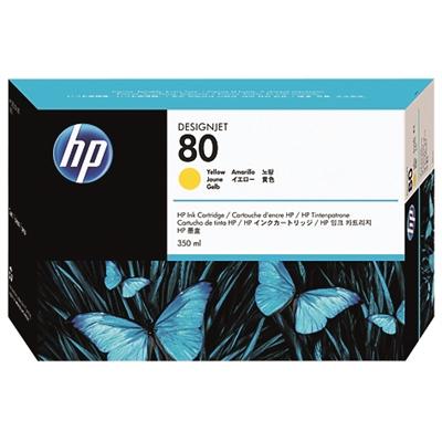 Värikasetti inkjet HP 80/C4848A DesignJet 1000 keltainen