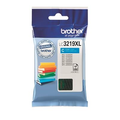 Värikasetti inkjet Brother LC 3219XLC sininen