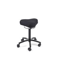 Satulatuoli Bermuda Soft 7025 musta - istumakorkeus 55 - 75 cm, sopii siis myös sähköpöytiin