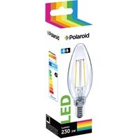 Lamppu Polaroid LED filament candle 2W E14 - vastaa 25W, Lumen 230, lämmin valkoinen 2700