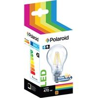 Lamppu Polaroid LED filament GLS 4W E27 - vastaa 40W, Lumen 470, lämmin valkoinen 2700