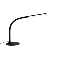 Työpistevalaisin ProLite Link musta - valon säätö hipaisunäppäimestä ja USB-pistoke