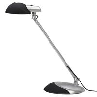 Työpistevalaisin Diasonic Light-LED musta/hopea