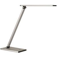 Työpistevalaisin ALCO LED 9157 hopea/musta - lampun kirkkaus säädettävissä hipaisunäppäimestä