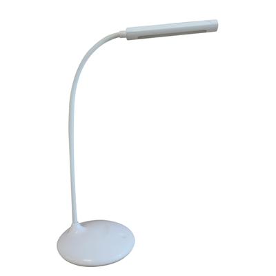 Työpistevalaisin Unilux Nelly LED - ladattava, kokoontaittuva, mukana USB-johto, helppo ottaa mukaan
