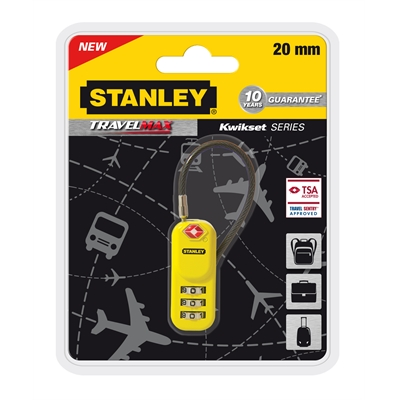 Matkalukko Stanley TravelMax 20 mm S742-061