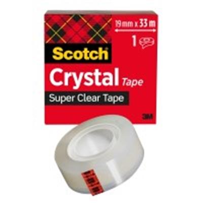 Yleisteippi Scotch 600 kirkas 19mm X 33m